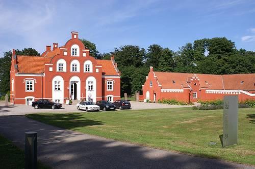 Dinamarca Vista de la entrada al museo