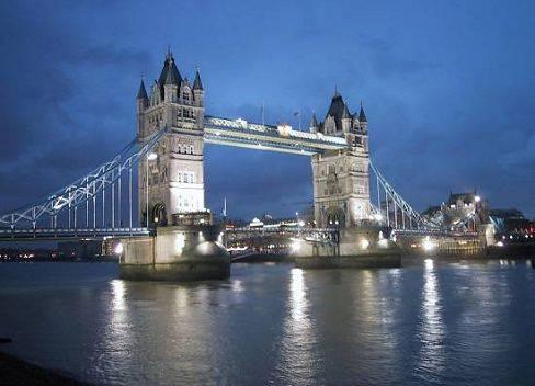 Londres, vista de noche