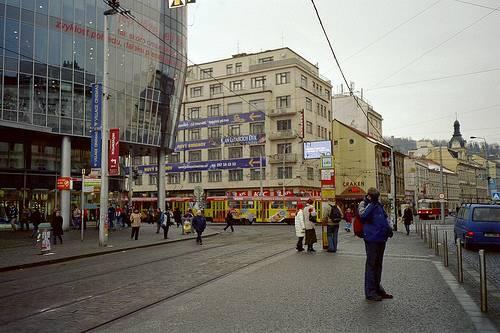 Avenida de compras