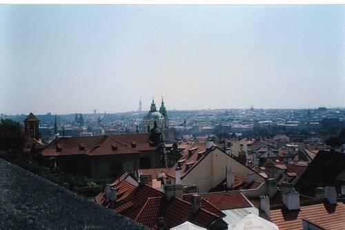 Vista desde el castilo de la ciudad