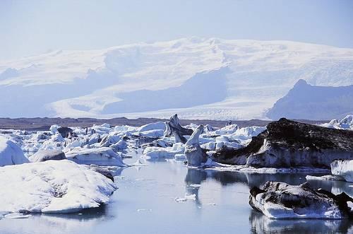 Icebergs de islandia