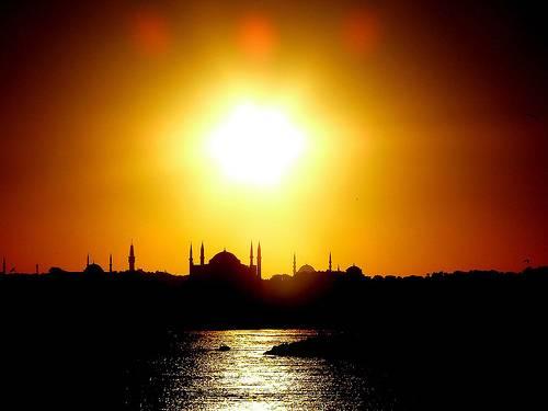 Vista impresionante de Estambul