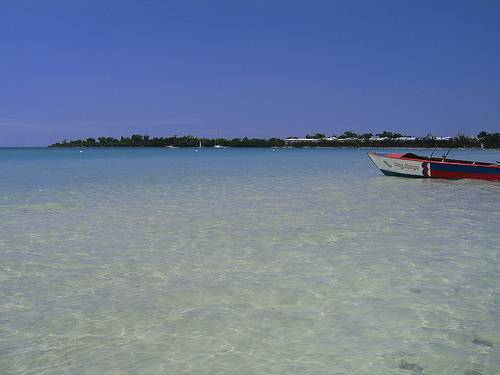 Aguas cristalinas en Jamaica