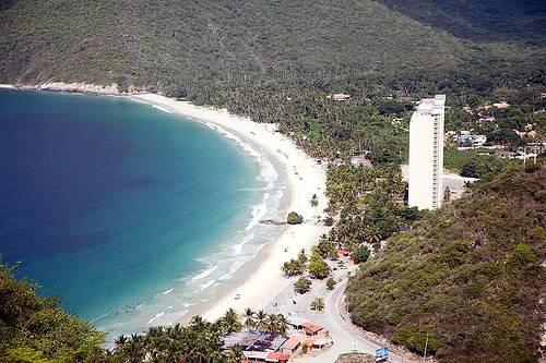 Ocumare hermosas playas en Venezuela
