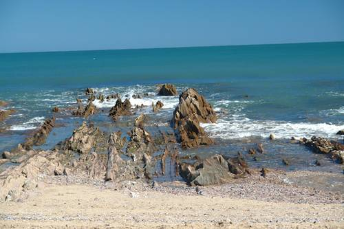 Playa en La paloma Uruguay