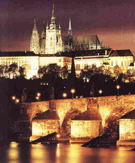 Praga Las luces de la ciudad