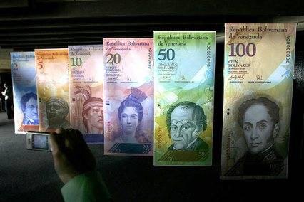nuevos billetes de venezuela