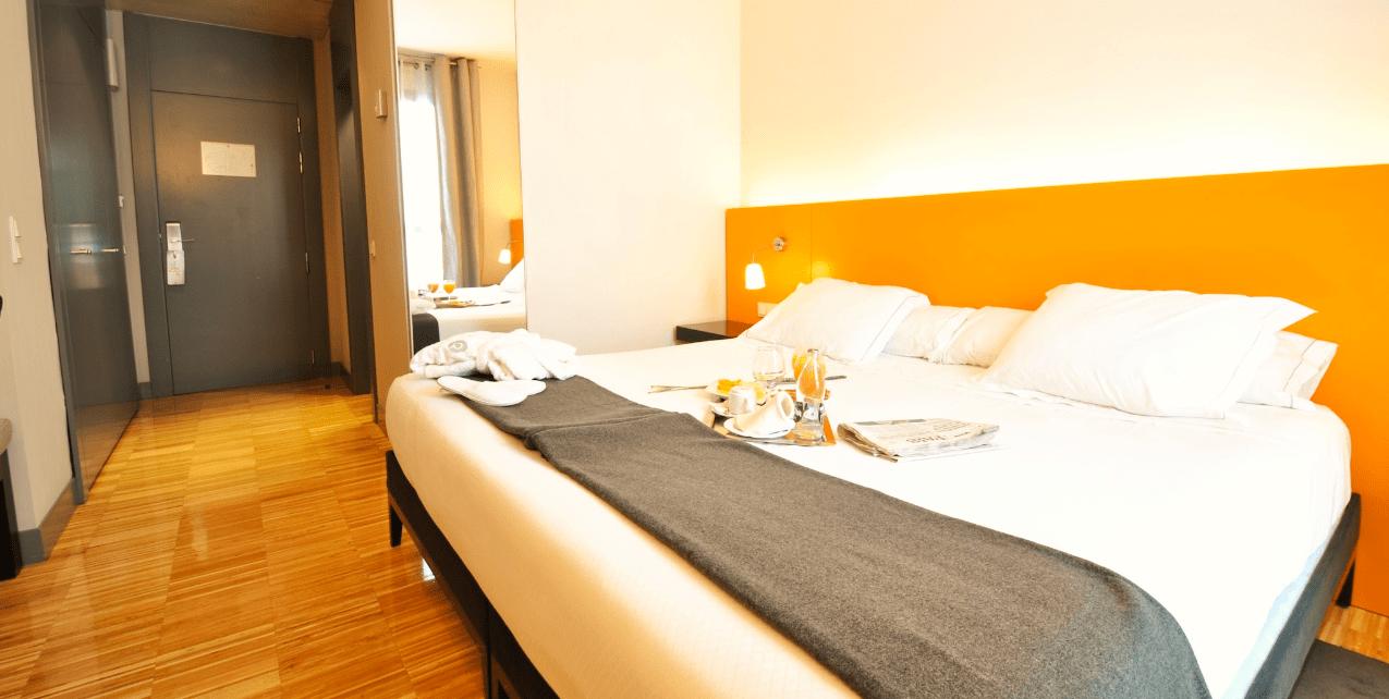 M s de 10 hoteles low cost en espa a para viajar barato for Hoteles chic en madrid