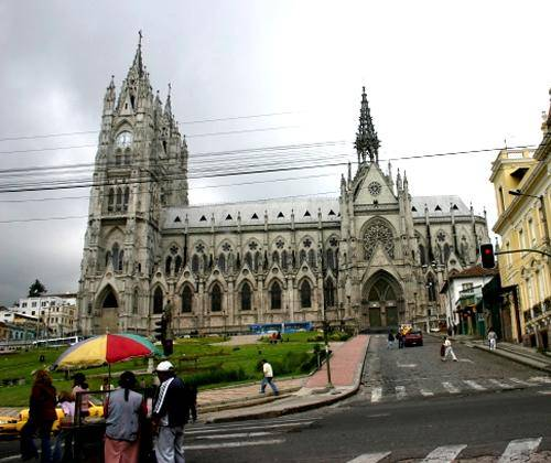 La Catedral de Quito 1