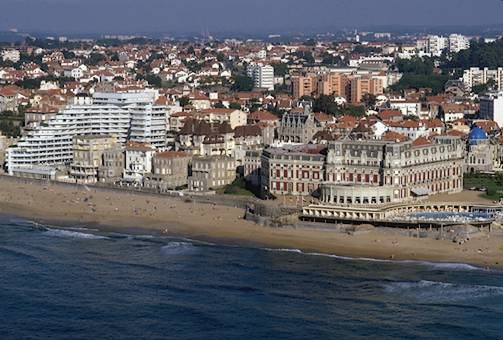 ciudad de biarritz