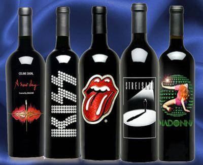 vinos de celebridades