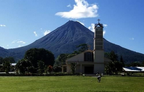 Volcán-Arenal-en-Costa-Rica