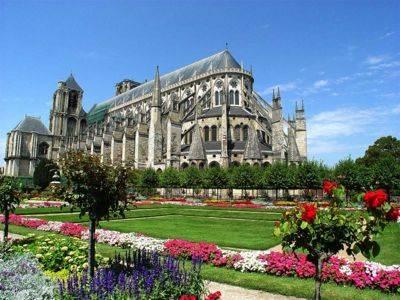 catedral gotica en bourges