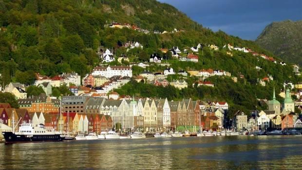 Lugares de interés en Noruega metropolitana 1