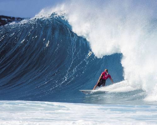 Las olas de Oahu en Hawai 1