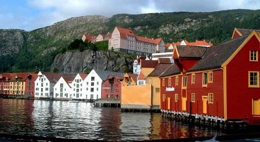 Lugares de interés en Noruega metropolitana 2