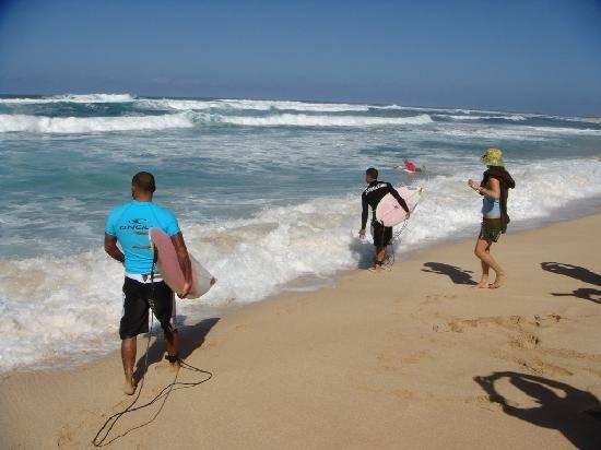 Las olas de Oahu en Hawai 2