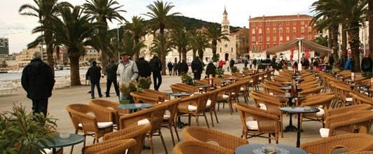 La ciudad de Split en Croacia 1