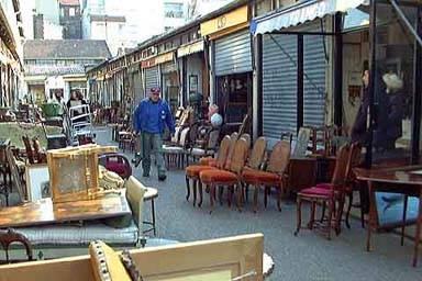 Los mercados de pulgas en Francia 1