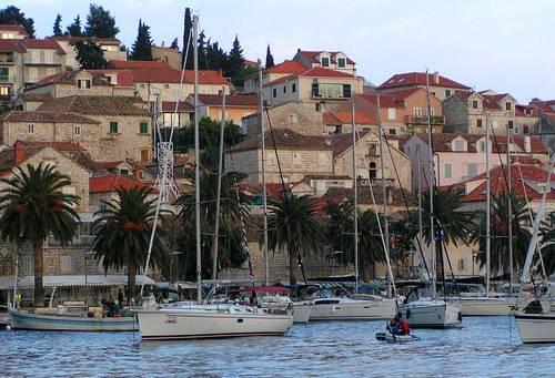 La ciudad de Split en Croacia 2
