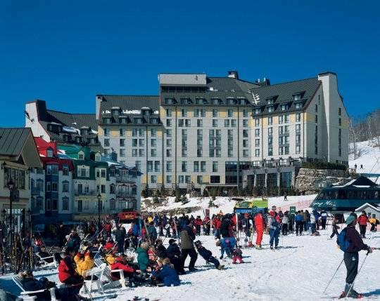 Experimenta la nieve en la villa Mont Tremblant 1