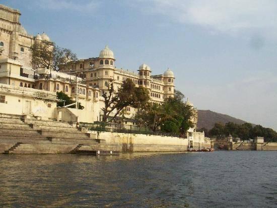 Lugares de interés en Udaipur, India 1