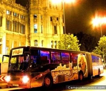 Para divertirse sin problemas, el Partybus de Madrid 1