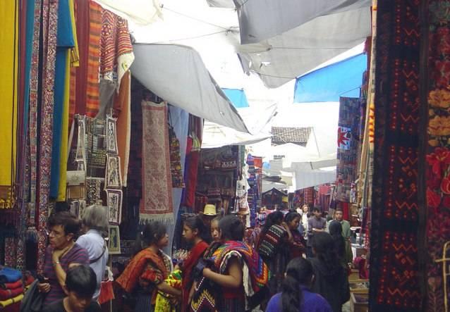 El mercado de Chichicastenango en Guatemala 2