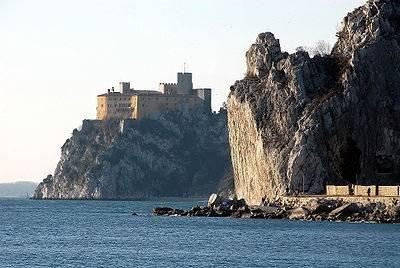 El Castillo de Duino, en Trieste 1