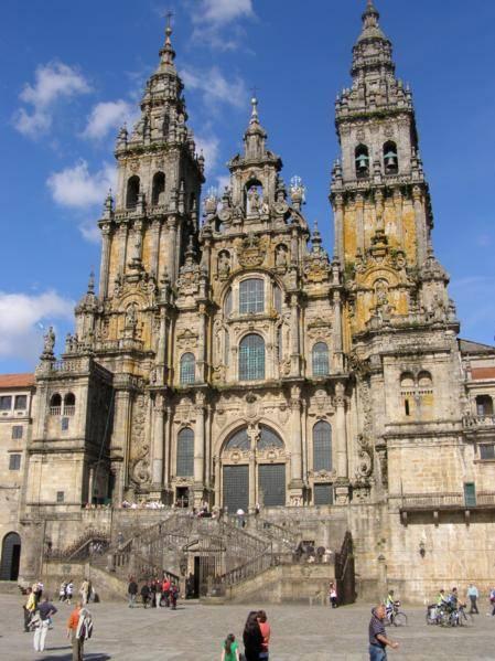 Lugares de interés en Santiago de Compostela 1