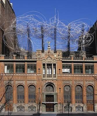 La Fundación Antoni Tàpies, Barcelona 1