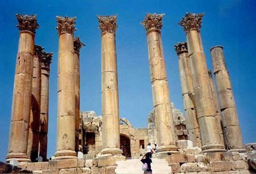 La ciudad de Jerash en Ammán, Jordania 1