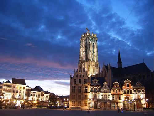 La ciudad de Mechelen, en Bélgica 1