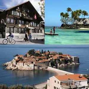 Los 8 destinos turísticos preferidos por las estrellas del espectáculo 1