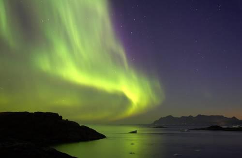 Aurora Boreal en Noruega, espectáculo celeste 1