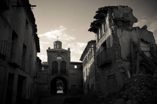 El pueblo fantasma de Belchite 2