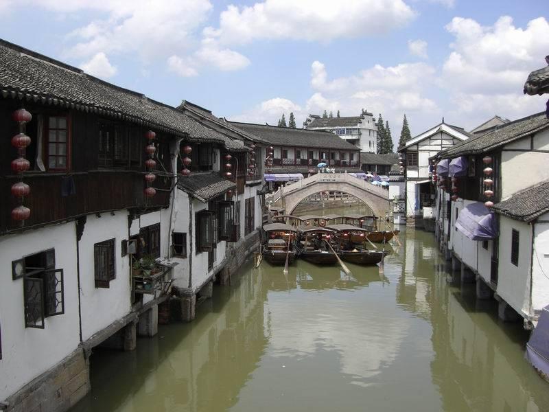 zhujiajiao la venecia de shangai
