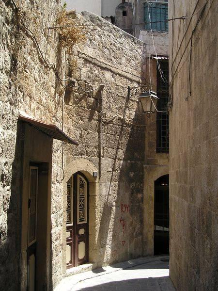 barrio cristiano de alepo siria