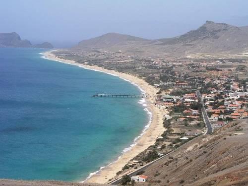 isla de porto santo madeira portugal