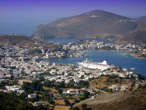 patmos en grecia