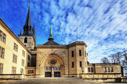 La Catedral de Santa María de Luxemburgo 1