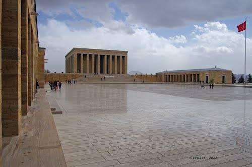 El Mausoleo de Anıtkabir 1