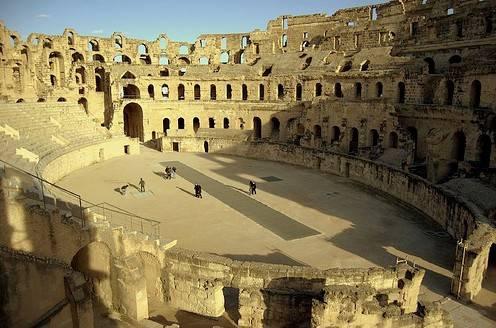 El anfiteatro de El Djem 1