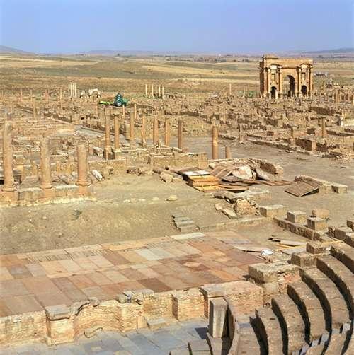 Las ruinas de Timgad, paraíso histórico 1