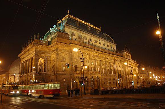 El Teatro Nacional de Praga 1