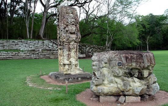 El sitio arqueológico de Copán 1