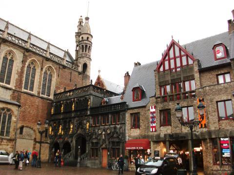 El centro histórico de Brujas 1