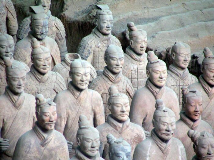 Los Guerreros de terracota, China 1