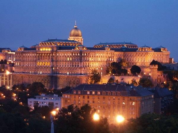 castillo de buda en budapest hungria