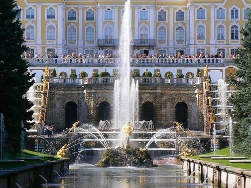 El Palacio de Peterhof 1